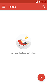 Nokia 6 - E-mail - Account instellen (IMAP zonder SMTP-verificatie) - Stap 6