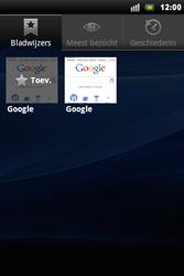 Sony Ericsson Xperia Mini Pro - Internet - Hoe te internetten - Stap 7