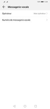 Huawei Mate 20 Pro - Messagerie vocale - configuration manuelle - Étape 10