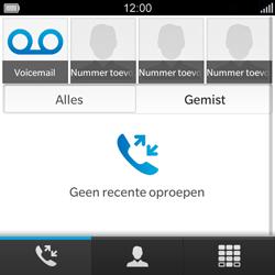 BlackBerry Q5 - Voicemail - Handmatig instellen - Stap 3