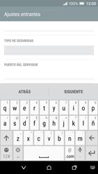 HTC One A9 - E-mail - Configurar correo electrónico - Paso 9