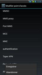 HTC Desire 516 - MMS - Configuration manuelle - Étape 15