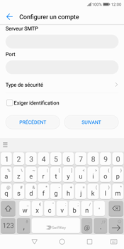 Huawei P Smart - E-mail - Configuration manuelle - Étape 16