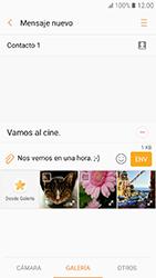 Samsung Galaxy A3 (2017) (A320) - Mensajería - Escribir y enviar un mensaje multimedia - Paso 13