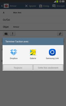 Samsung Galaxy Tab 3 8 4G - E-mails - Envoyer un e-mail - Étape 12