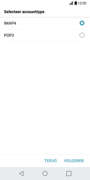 LG G6 (LG-H870) - E-mail - Handmatig instellen - Stap 10