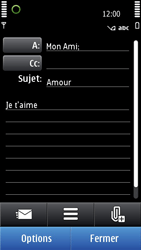 Nokia N8-00 - E-mail - envoyer un e-mail - Étape 9