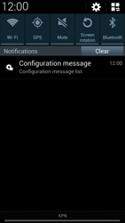 Samsung I9505 Galaxy S IV LTE - MMS - Automatic configuration - Step 4