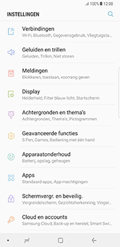 Samsung N950F Galaxy Note 8 - Internet - Internet gebruiken in het buitenland - Stap 6