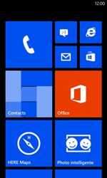 Nokia Lumia 520 - Troubleshooter - Appels et contacts - Étape 1