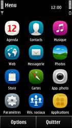 Nokia 500 - MMS - envoi d'images - Étape 2