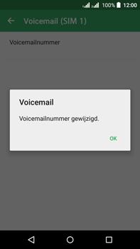Acer Liquid Z630 - Voicemail - handmatig instellen - Stap 12