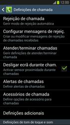 Samsung Galaxy S3 - Chamadas - Como bloquear chamadas de um número -  6