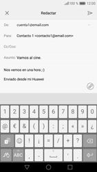 Huawei P9 Lite - E-mail - Escribir y enviar un correo electrónico - Paso 10