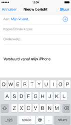 Apple iPhone 5 iOS 8 - E-mail - hoe te versturen - Stap 6