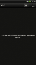 HTC S720e One X - Wifi - handmatig instellen - Stap 5