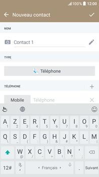 HTC Desire 825 - Contact, Appels, SMS/MMS - Ajouter un contact - Étape 7