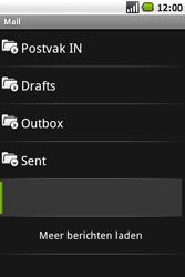 Samsung I5700 Galaxy Spica - E-mail - E-mails verzenden - Stap 13