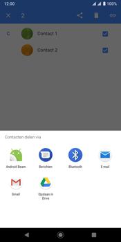 Sony xperia-xz3-dual-sim-model-h9438 - Contacten en data - Contacten overzetten via Bluetooth - Stap 7