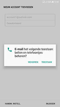 Samsung J730F Galaxy J7 (2017) (DualSIM) - E-mail - e-mail instellen (outlook) - Stap 9