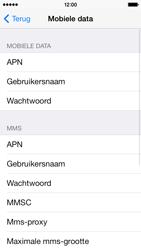 Apple iPhone 5c - Internet - Handmatig instellen - Stap 6