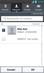 LG Optimus L5 II - Contact, Appels, SMS/MMS - Envoyer un SMS - Étape 7