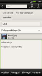 HTC Z520e One S - E-mail - E-mail versturen - Stap 14