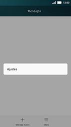 Huawei Y5 - Mensajería - Configurar el equipo para mensajes de texto - Paso 4