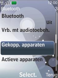 Nokia 7210 supernova - Bluetooth - Headset, carkit verbinding - Stap 6