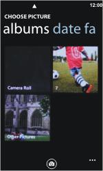 Nokia Lumia 800 - MMS - Sending pictures - Step 7