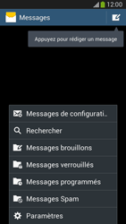 Samsung G386F Galaxy Core LTE - SMS - configuration manuelle - Étape 5