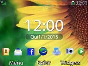 Huawei U6020 - Email - Como configurar seu celular para receber e enviar e-mails - Etapa 1