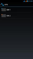 Wiko Stairway - Mensajería - Configurar el equipo para mensajes multimedia - Paso 7
