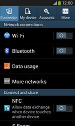 Samsung S7275 Galaxy Ace III - Network - Usage across the border - Step 4