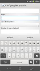 Sony C5303 Xperia SP - Email - Como configurar seu celular para receber e enviar e-mails - Etapa 11
