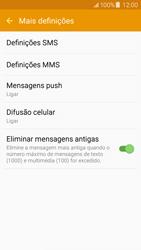 Samsung Galaxy J5 - SMS - Como configurar o centro de mensagens -  7