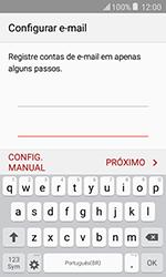 Samsung Galaxy J1 - Email - Como configurar seu celular para receber e enviar e-mails - Etapa 6