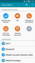 Samsung Galaxy A3 (A300FU) - Internet et connexion - Accéder au réseau Wi-Fi - Étape 4