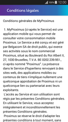 Samsung Galaxy A3 (2016) - Applications - MyProximus - Étape 11