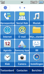 Samsung S5260 Star II - E-mail - hoe te versturen - Stap 3