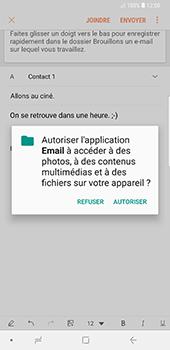 Samsung Galaxy Note 9 - E-mails - Envoyer un e-mail - Étape 12