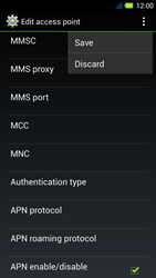 Acer Liquid E3 - MMS - Manual configuration - Step 15