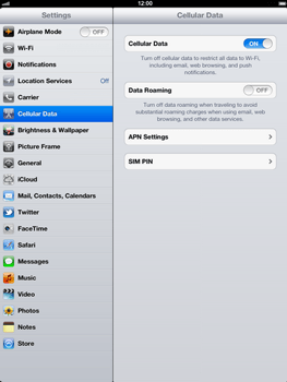 Apple The New iPad - Internet - Manual configuration - Step 5