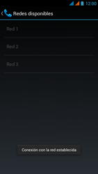 Wiko Stairway - Red - Seleccionar una red - Paso 13