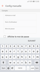 Samsung Galaxy S6 - Android M - E-mail - Configuration manuelle - Étape 8