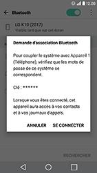 LG K10 2017 - WiFi et Bluetooth - Jumeler votre téléphone avec un accessoire bluetooth - Étape 7