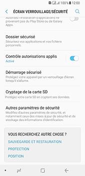Samsung Galaxy A8 - Sécuriser votre mobile - Personnaliser le code PIN de votre carte SIM - Étape 5