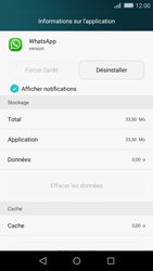 Huawei P8 Lite - Applications - Supprimer une application - Étape 5