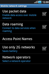 Samsung S5830 Galaxy Ace - Internet - Enable or disable - Step 6