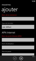 Nokia Lumia 920 LTE - MMS - Configuration manuelle - Étape 6